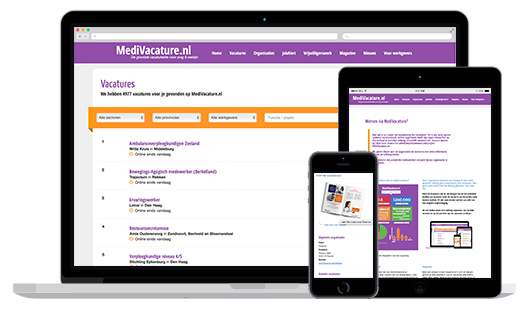 MediVacature website